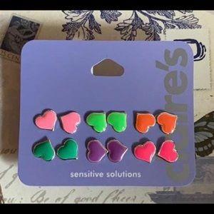 Claire's Sensitive Solution Earrings